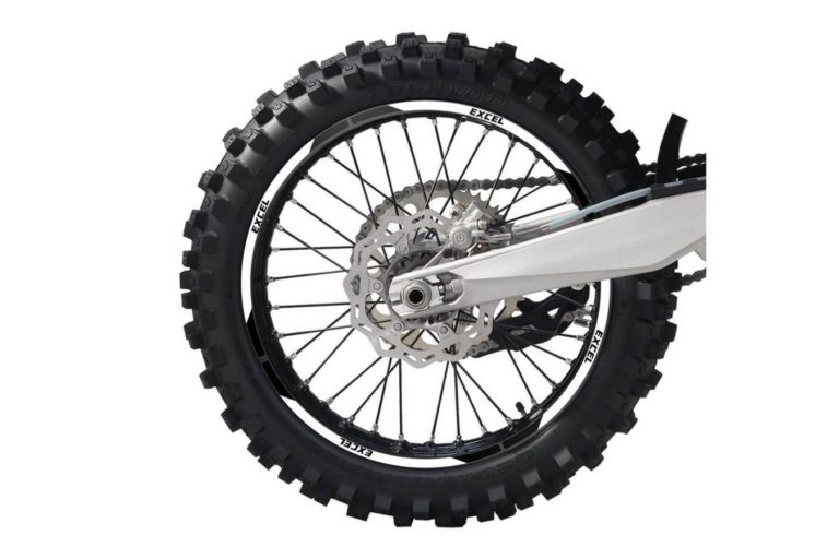 Felgendekor Felge Rad Räder Motorrad Dekor selbst gestalten Dekor konfigurieren White Band Weiß
