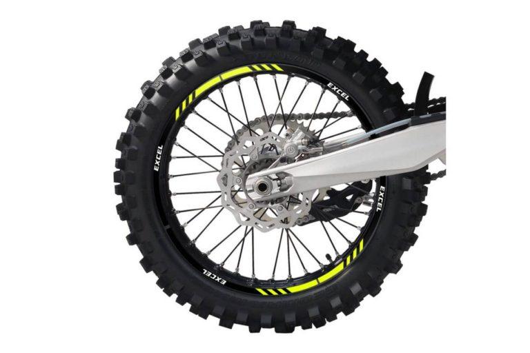 Felgendekor Felge Rad Räder Design Decal Kit erstellen Gelb Schwarz Excel BYD