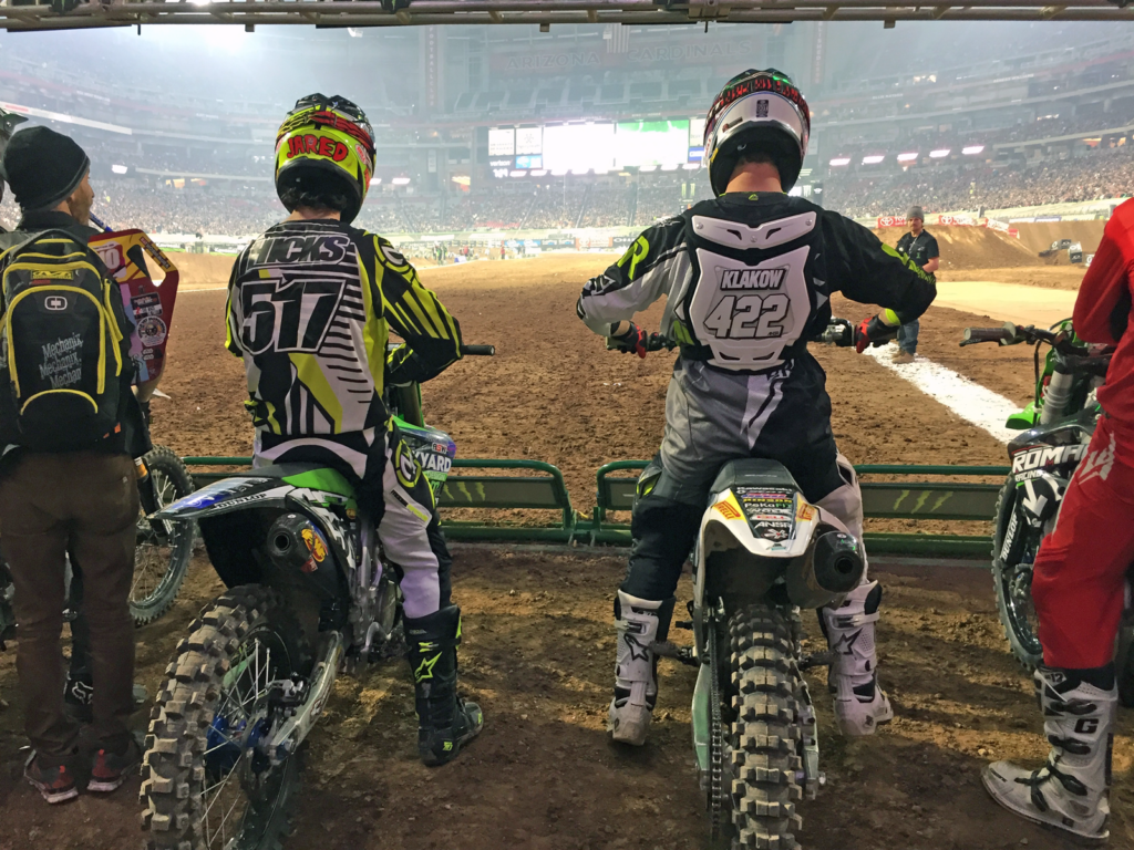 PK JH Monster Energy AMA Supercross Cup BYD Team Philipp Klakow Jared Hicks