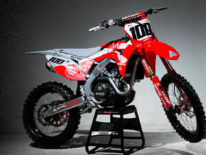 Josh Hansen Honda Graphics CRF 450 R 2020 Grey Backyard