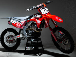 Josh Hansen Honda Graphics CRF250R 2020 Grey