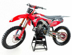 Josh Hansen CRF450R 2020 Graphics Grey