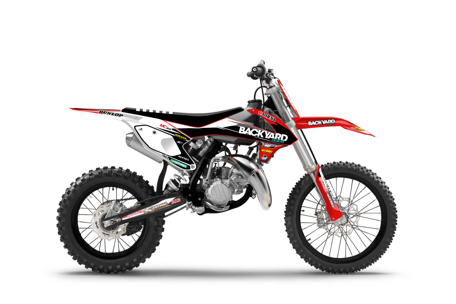 GasGas MC85 MX Graphic Kits  If you are new to the world of mx, this is your bike. The GasGas MC 85 is perfect for those youngsters searching for a powerful and easy to handle bike to earn first wins.