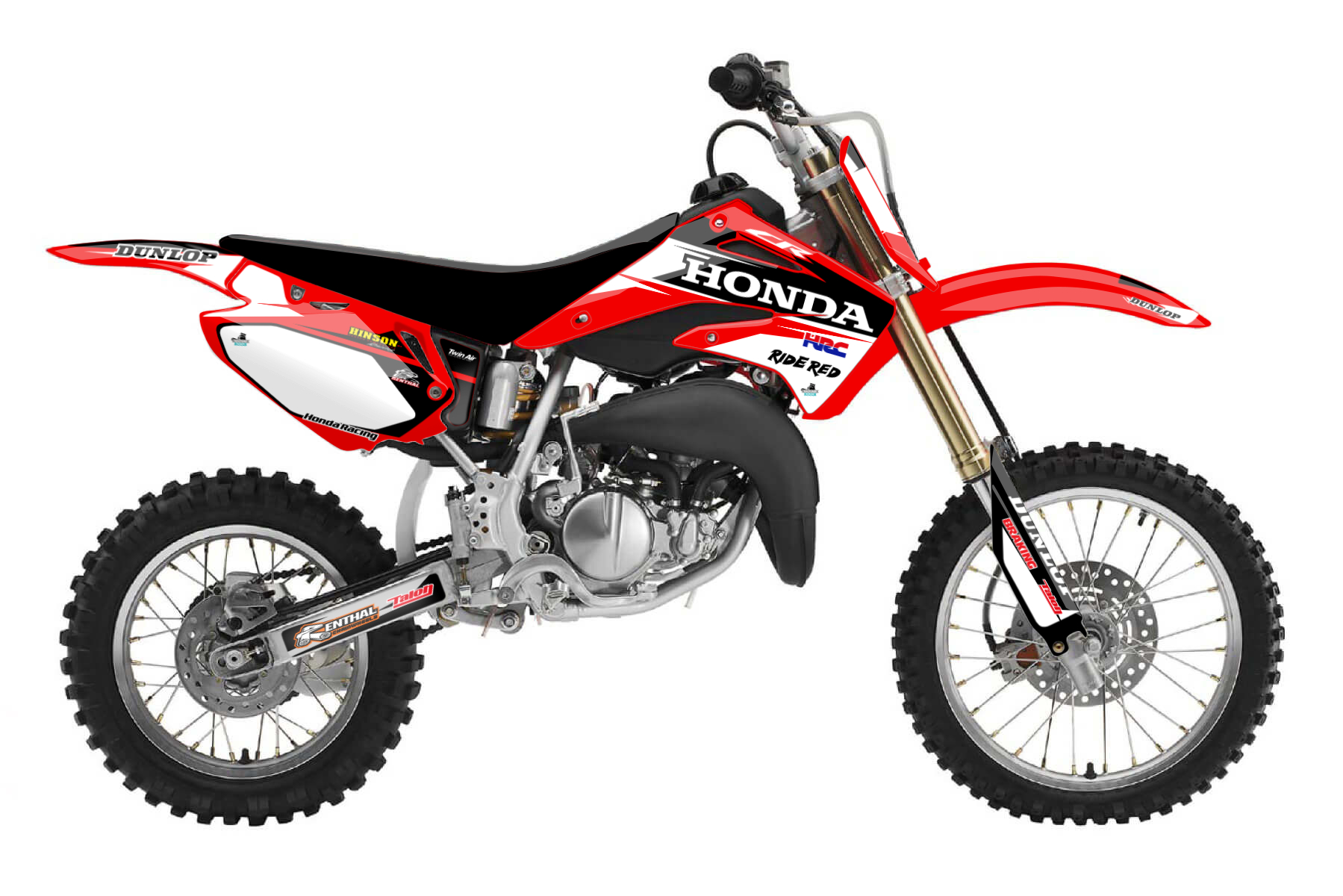 Honda CR 85 MX Graphic Kits  The CR 85 is the perfect companion to raise your kids into the world of mx. It provides everything you need: safety, power and quality.