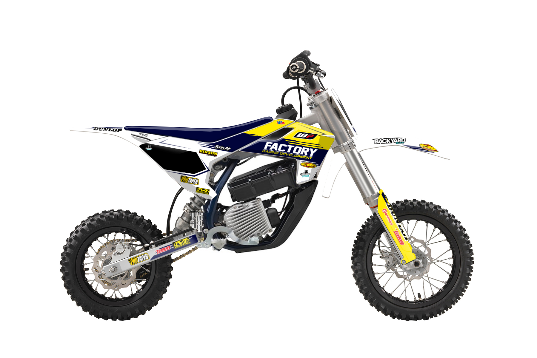Husqvarna EE 5 MX Graphic Kits  This fully electric bike is perfect for MX beginners that value the emission free engine and the technology that will change generations of riders to come.