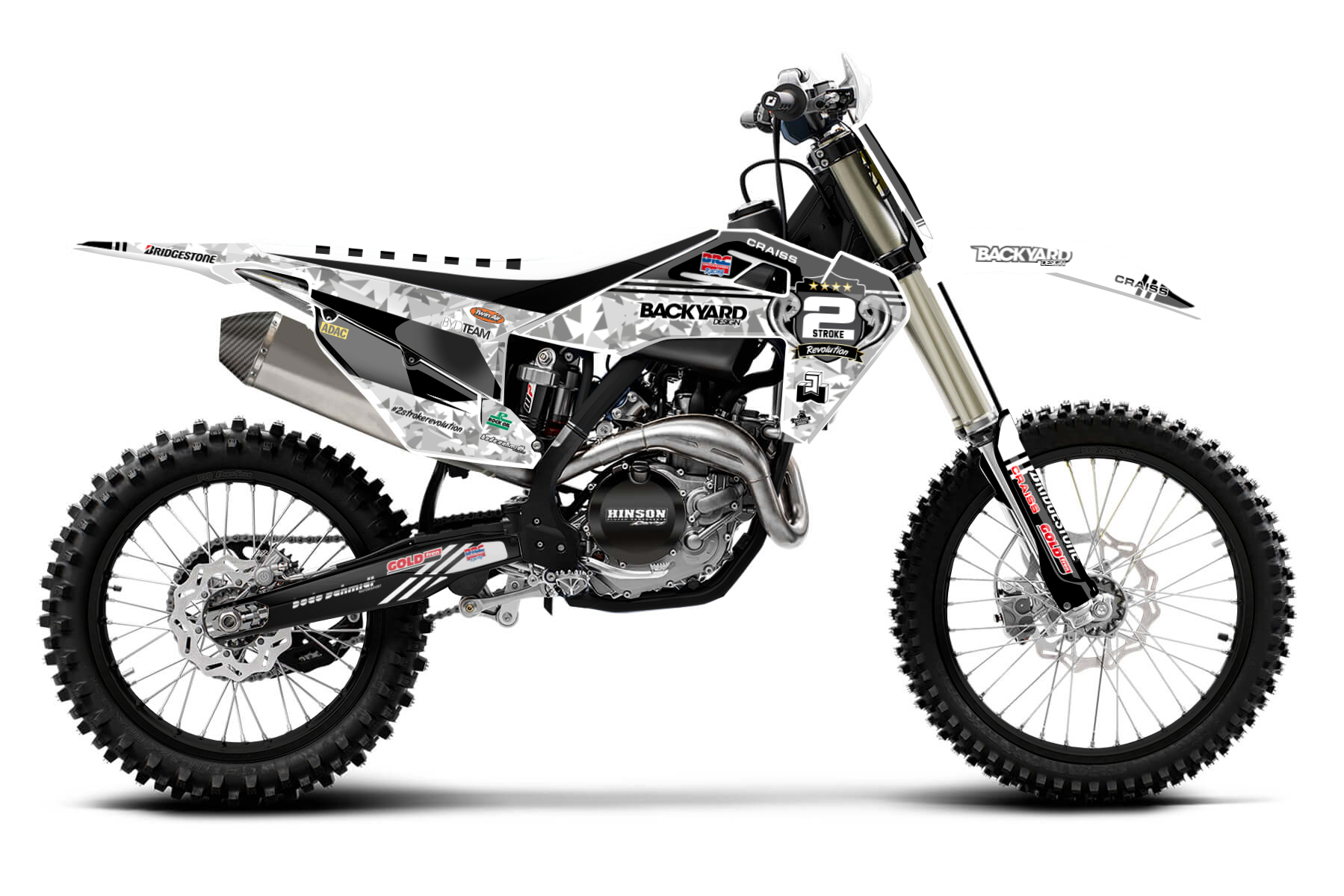 Husqvarna FC350 Graphic Kits  The Husqvarna FC350 combines a lightweight engine with a sturdy frame and enough power to win races. If you are looking for a competitive bike, this one is perfect for you.