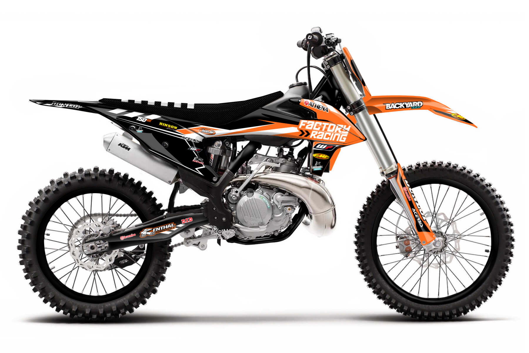 KTM SX 150 MX Graphic Kits  Unbeaten in its own class, the KTM SX 150 delivers an easy handling and a lightweight chassis that makes the four stroke both sturdy and reliable.