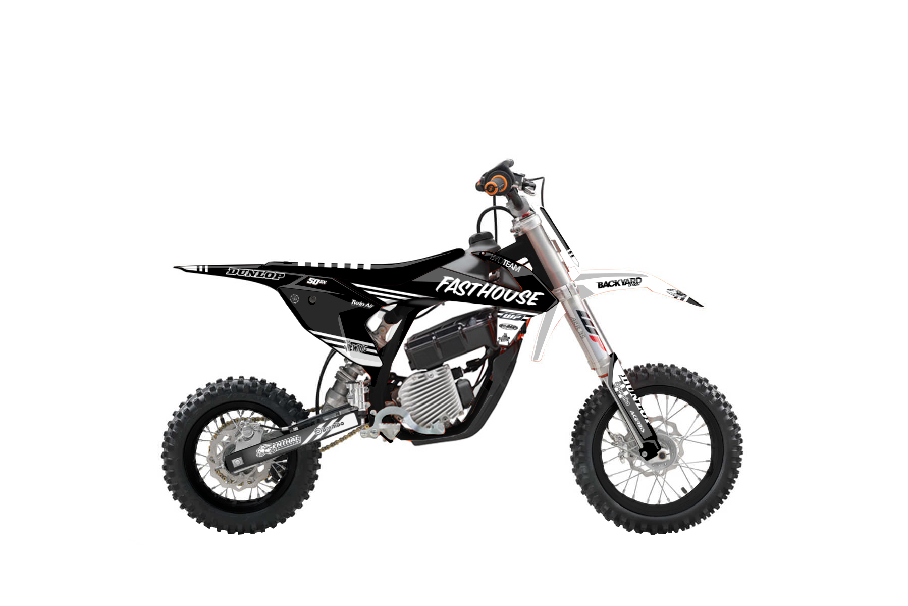 KTM SX E-5 MX Graphic Kits  This mini mx bike is fully electric and shows us what the future will bring for the next generation of mx bikers: almost no noise and free of emissions the KTM SX-E 5 is a good start in the world of off road racing.