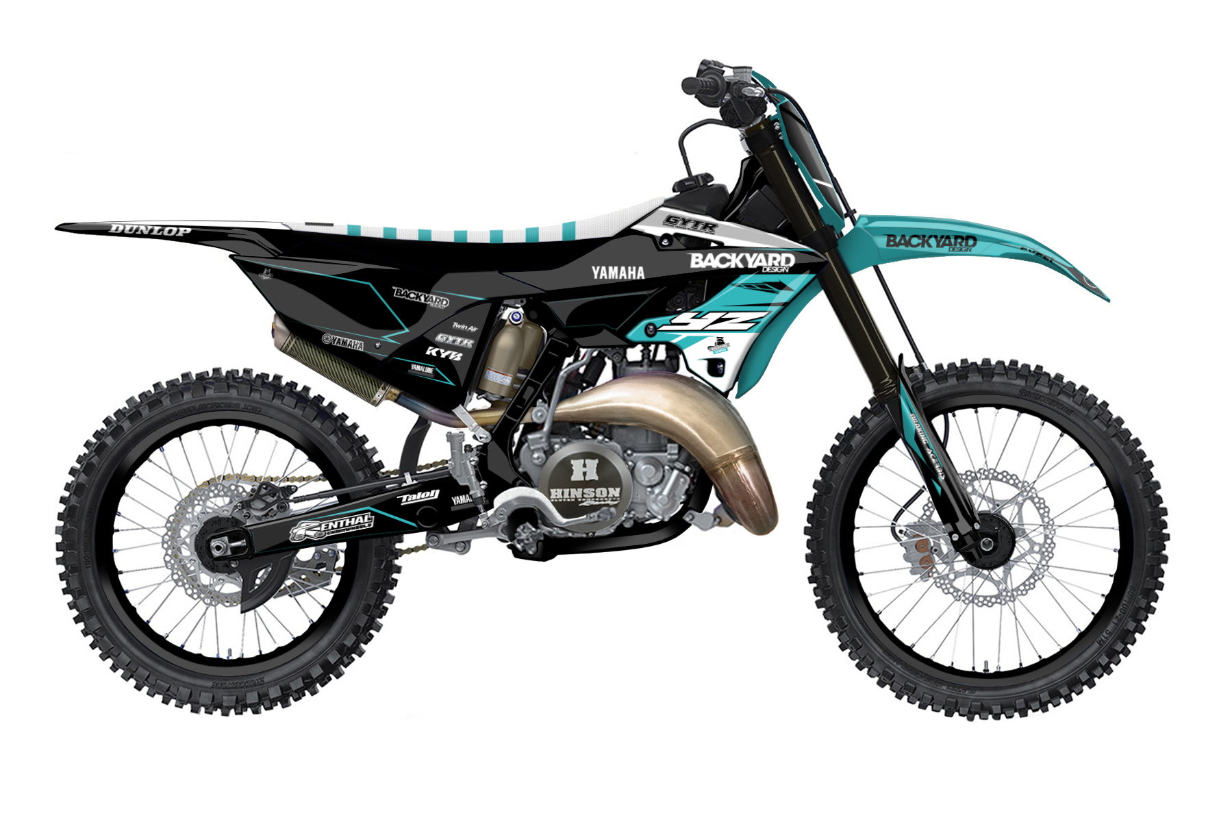 Yamaha YZ 250 MX Graphic Kits  The Yamaha YZ 250 is as agile as it is light. It is convincing with good acceleration and precise handling. The two stroke is a real legend for all those loving mx.