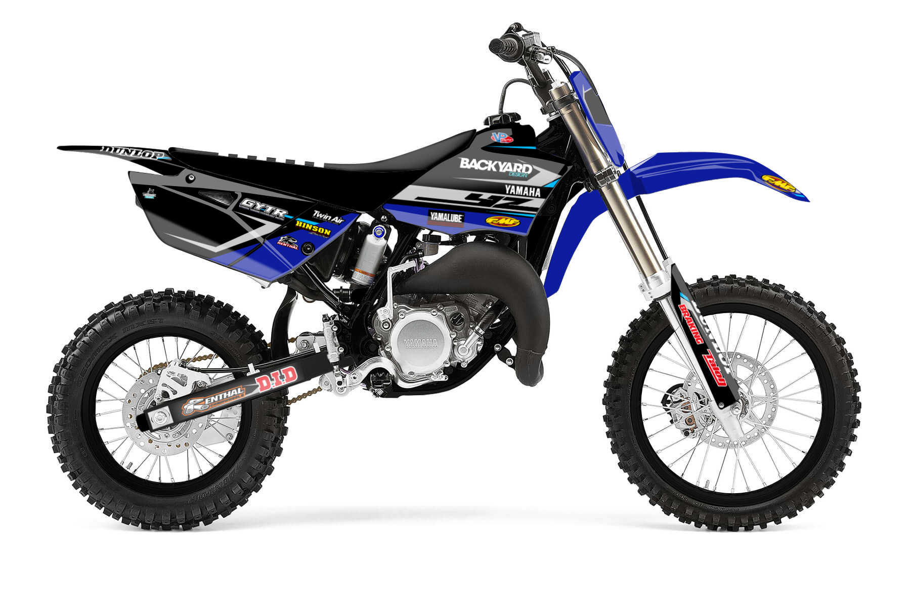 Yamaha YZ 85 MX Graphic Kits  The Yamaha YZ 85 is the perfect bike to start your career on. It is a trustworthy partner on the way to your first wins on the track. A light frame and enough power is all you need.
